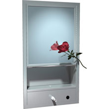 ASI - Cabinet, Multi-Purpose; Shelf, Mirror, Towel, Soap; Traditional - 10-0430