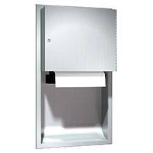 ASI - Automatic Roll Paper Towel Dispenser, Battery Operated - Recessed - 10-045224A