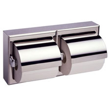 Bobrick - Toilet Tissue Dispenser With Cover For Two Rolls - 69997