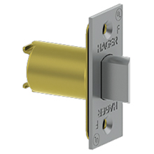 Hager - Spring Latch 3949 SQ-FACEPLATE US26D