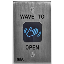 BEA - Magic Switch MS11S - Adjustable Range, Stainless Steel Touchless Actuator