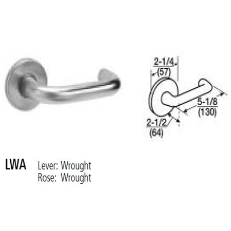 Corbin Russwin - Lockset ML2065 LWA LC 626