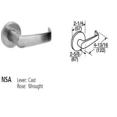Corbin Russwin - Lockset ML2067 NSA LC 626