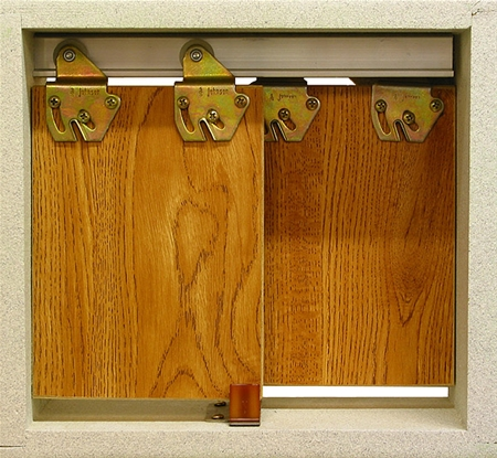 L E Johnson - By-Pass Door Set - 2200 602D