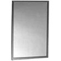Bobrick - Channel Framed Mirror 18W By 24H 165 1824 DS-BR09