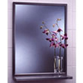 Bobrick - Angle Framed 18W By 30H Mirror-Shelf 292 1830 DS-BR114
