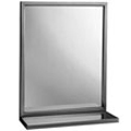 Bobrick - Angle Framed 24W By 36H Mirror-Shelf 292 2436 DS-BR116