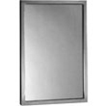Bobrick - Angle Framed Mirror 18W By 30H 290 1830 DS-BR100