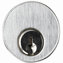 Alarm Controls - 1 1/8 MORTISE CYLINDER 2 KEYS KEYED DIFFERENT CY-1 DS-AC0202