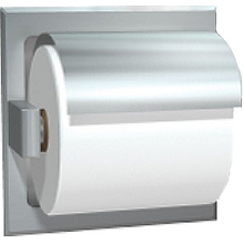 ASI - Toilet Paper Holder, Hooded - 10-7402-HSSM DS-ASI2084