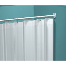 "ASI - Shower Curtain W/ Grommets, 42""W X 72""H (White) - 10-1200-V42 DS-ASI1675"