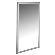 ASI - 20650-B Roval Inter-Lok Stainless Steel Framed Mirrors -Tempered Glass - 10-20650-B1830 DS-ASI2329