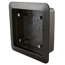 "BEA - 6""  Square Flush Style Mounting Box 10BOX6SQFM DS-BEA250"