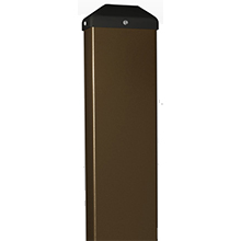 "BEA - Bronze Bollard 42""H X 6""W X 4""D - With Out Holes 10BOLLARDBRZWOH DS-BEA486"