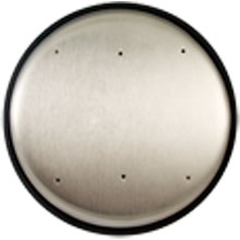 "BEA - Pushplate, 6"" Round - 10PBR10 DS-BEA76"