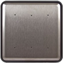 "BEA - 6"" Square Push Plate w/ Plain Face Plate - 10PBS610 DS-BEA248"