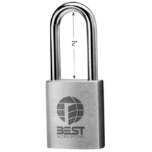 Best - Padlock 21B-770L L/C 626 DS-BE284