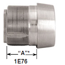 Best - Mortise Cylinder 1E-76 L/C C181 RP1 626 DS-BE229