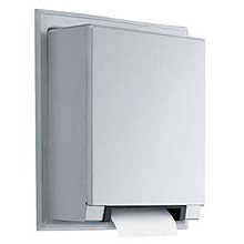Bobrick - Automatic, Universal Semi-Recessed Roll Paper Towel Dispenser 29744 DS-BR417