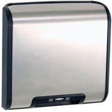 Bobrick - Trim Line Series Ada Dryer, Surface-Mounted, Stainless Steel Cover 115V 7128 115V DS-BR437