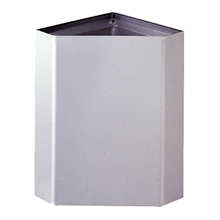 Bobrick - Surface-Mounted Corner Waste Receptacle B-268 DS-BR513