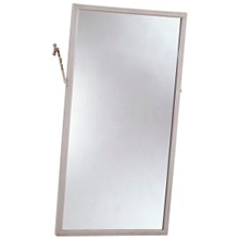"Bobrick - ANGLE-FRAME TWO POSITION TILT MIRROR 18"" X 30"" 294 1830 DS-BR463"