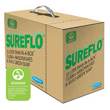 Bobrick - SUREFLO SOAP CARTRIDGE GREEN SOAP, 12-LITER (13,000 HANDWASHES) 81412 DS-BR461