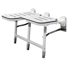Bobrick - Bariatric Reversible Folding Shower Seat With Legs 918116R DS-BR499