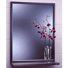Bobrick - Angle Framed 18W By 36H Mirror-Shelf 292 1836 DS-BR115