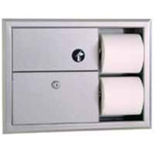 Bobrick - Sanitary Napkin Disposal/Tissue Disp, Classic - 3094 DS-BR137