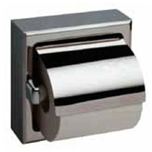 Bobrick - Toilet Tissue Dispenser With Cover For Single Roll Satin 66997 DS-BR265