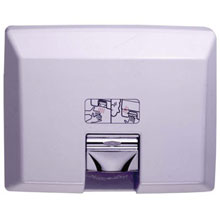 Bobrick - Aircraft Rec Hand Dryer Auto White 750 115V DS-BR333