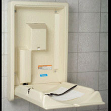 Bobrick - Baby Changing Station, Surf-Mount Vert. - KB101-00 DS-BR41