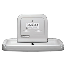 Bobrick - Baby Changing Station, Horiz., Wall-Mtd., Stainless Steel, Grey KB200-01SS DS-BR455