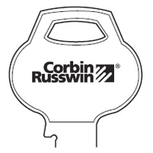 Corbin Russwin - Key Blanks D1 6 PIN-10 SINGLE 175421