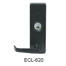 Detex - ECL-620 Outside Lever Trim For ECL-600 BLACK DS-DX044