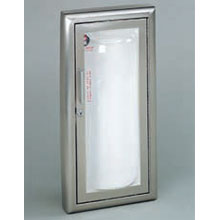 JL Industries - Fire Extinguisher Cabinet, Clear VU Series, Acrylic Bubble, Surface Mt.  - 1513F25 DS-JL00007