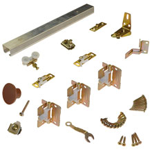 "L E Johnson - Folding Door Hardware Set 36"" - 111FD 362 31100"