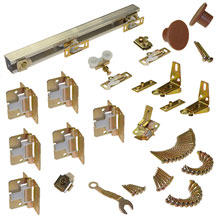 "L E Johnson - Folding Door Hardware Set 48"" - 111FD 484 31097"