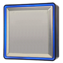 "Larco - 6S0U0LED, Wall Sw 6"" Sq ""Plain"" LED DS-LA144"