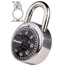Master Lock - Padlock, Combination - 1500 COMB. DIFF. 31187