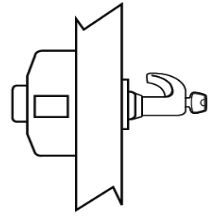 Sargent - Exit Device Trim KD 28-C LL 26D TURBO-SA130