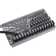 Securitron - CCB-8-12NL , Central Control Board  12VDC (w/o LEADS)  8 Fused Outputs DS-SE76