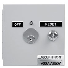 Securitron - Fire Alert Reset Control 12vdc - FAR-12 DS-SE206