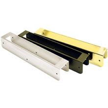 Securitron - SAM Wood Bracket, Brass Polished - SWB-03 DS-SE674
