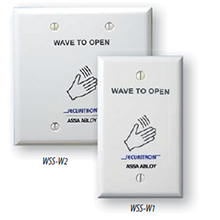 Securitron - WSS-W1, Wave Switch Sense White - Single Gang DS-SE1143