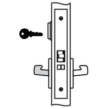 Yale - Lockset AUR 8805FL LC 626 DS-YA105